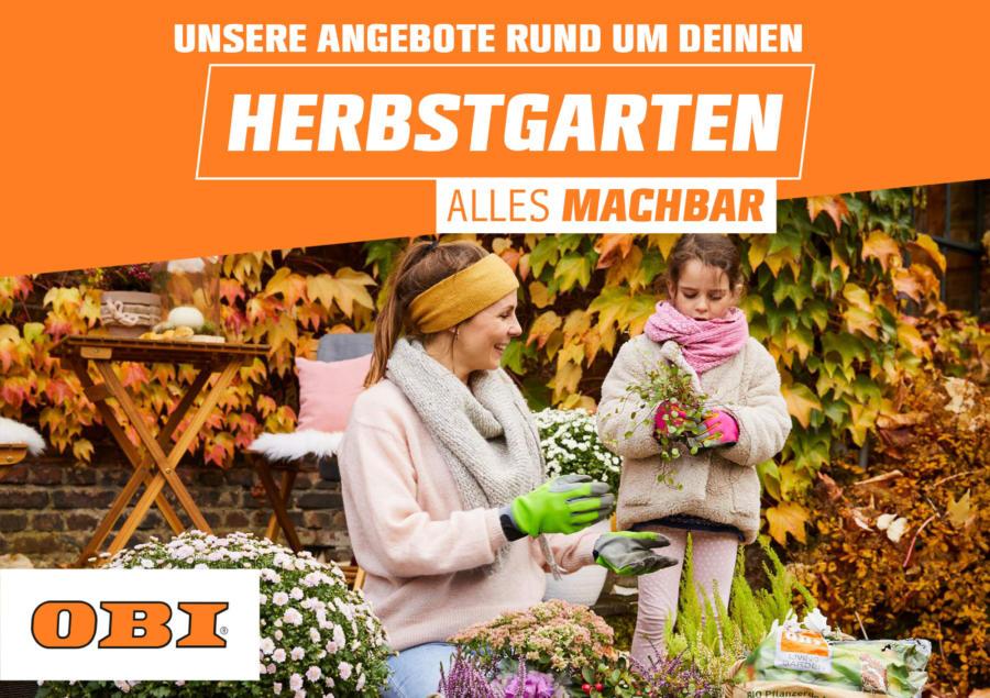 OBI: Herbstgarten