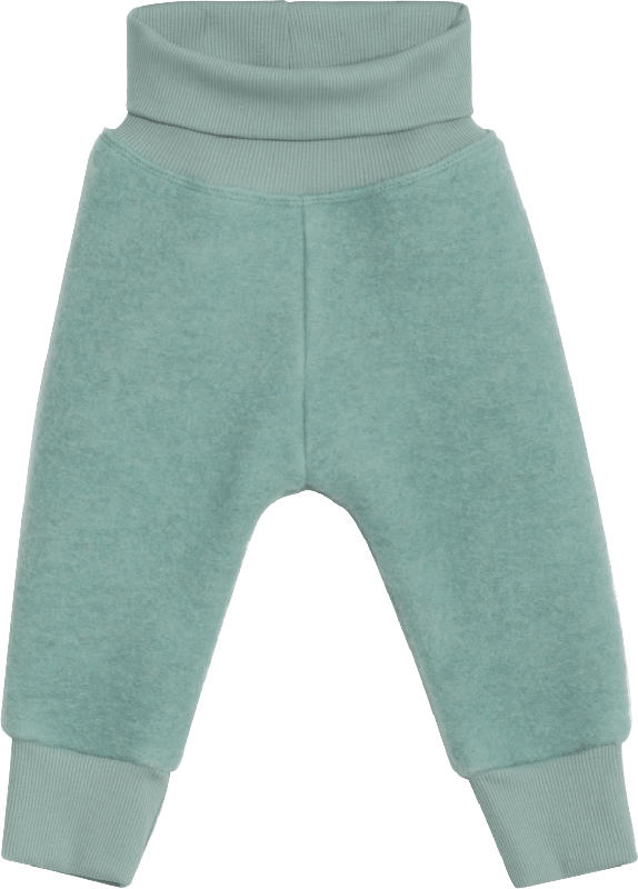 ALANA Walkhose, Gr. 74/80, in Bio-Wolle und Bio-Baumwolle, mint