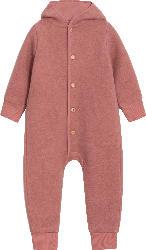ALANA Kinder Walkoverall, Gr. 86/92, in Bio-Schurwolle und Bio-Baumwolle, rosa