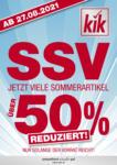 KiK SSV - bis 04.09.2021
