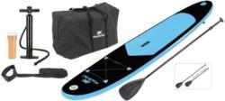Stand-Up Paddle Board Kunststoff, Schwarz/Blau