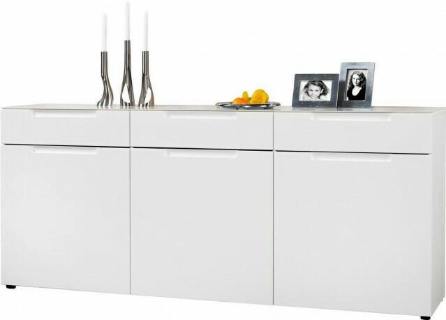 Sideboard Mailand weiß Hochglanz ca. 192 x 83 cm