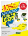 METRO Mega Days 19 - bis 07.09.2021