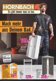 Hornbach Projekt - Mach mehr aus deinem Bad.