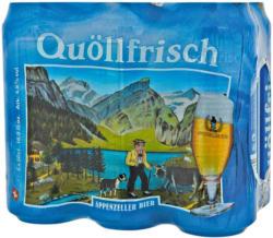 Appenzeller Bier Quöllfrisch hell 6 x 50 cl -