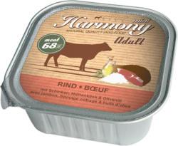 Harmony Dog Natural Nassfutter Rind & Schinken 11x150g