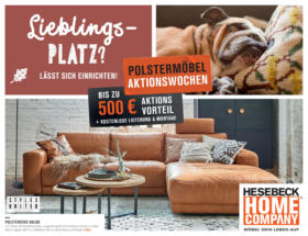 Hesebeck Home Company: Polstermöbel Aktionswochen