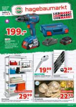 Hagebau Lieb Markt Flugblatt - gültig bis 18.9.