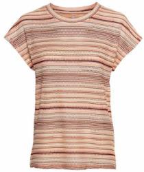Damen-T-Shirt mit Ajour-Muster