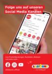 BabyOne Folge uns auf unseren Social Media Kanälen! - bis 05.09.2021