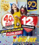Möbel Inhofer Rabatt Endspurt bei Möbel Inhofer - bis 11.09.2021