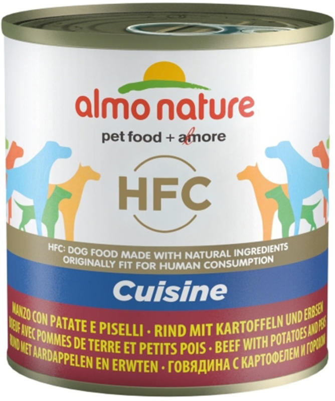 Almo Nature HFC Cuisine Dog Rind & Kartoffel & Reis 290g