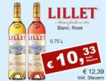 Getränkehaus Krause & Vinothek Weinblatt Lillet Blanc, Rose - bis 30.09.2021