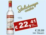 Getränkehaus Krause & Vinothek Weinblatt Stolichnaya Vodka - bis 30.09.2021
