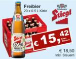 Getränkehaus Krause & Vinothek Weinblatt Stiegl Freibier 0.0 - bis 30.09.2021