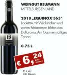 Getränkehaus Krause & Vinothek Weinblatt 2018 Equinox 365, Reumann, Mittelburgendland - bis 30.09.2021