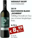 Getränkehaus Krause & Vinothek Weinblatt 2019 Sauvignon Blanc, Skoff, Südsteiermark - bis 30.09.2021