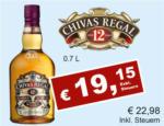 Getränkehaus Krause & Vinothek Weinblatt Chivas Regal 12years - bis 30.09.2021