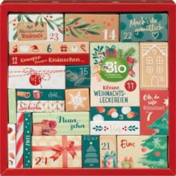 dmBio Adventskalender 2021 mit 24 leckeren Überraschungen