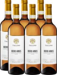 Tallino Roero Arneis DOCG, 2020, Piemont, Italien, 6 x 75 cl