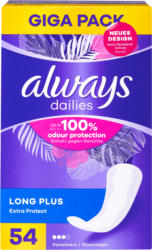 Always Slipeinlage Extra Protect, Long Plus, Gigapack, 54 Stück