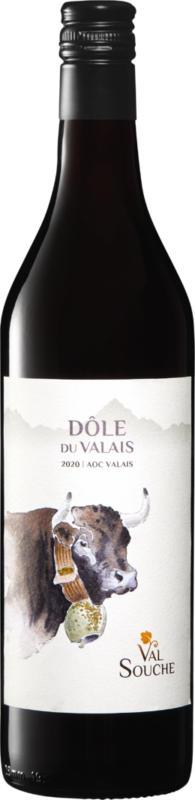 Val Souche Dôle du Valais AOC, 2016, Valais, Suisse, 70 cl