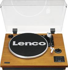 LENCO LS 55 - Platine. (Noyer / noir / transparent)
