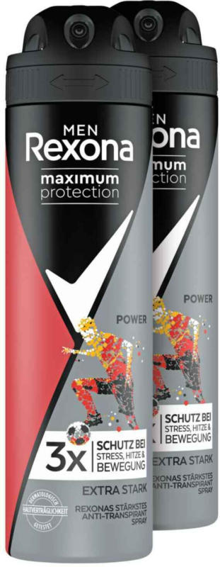 Rexona Maximum Protection Men Anti-Transpirant Deospray Power 2 x 150 ml -