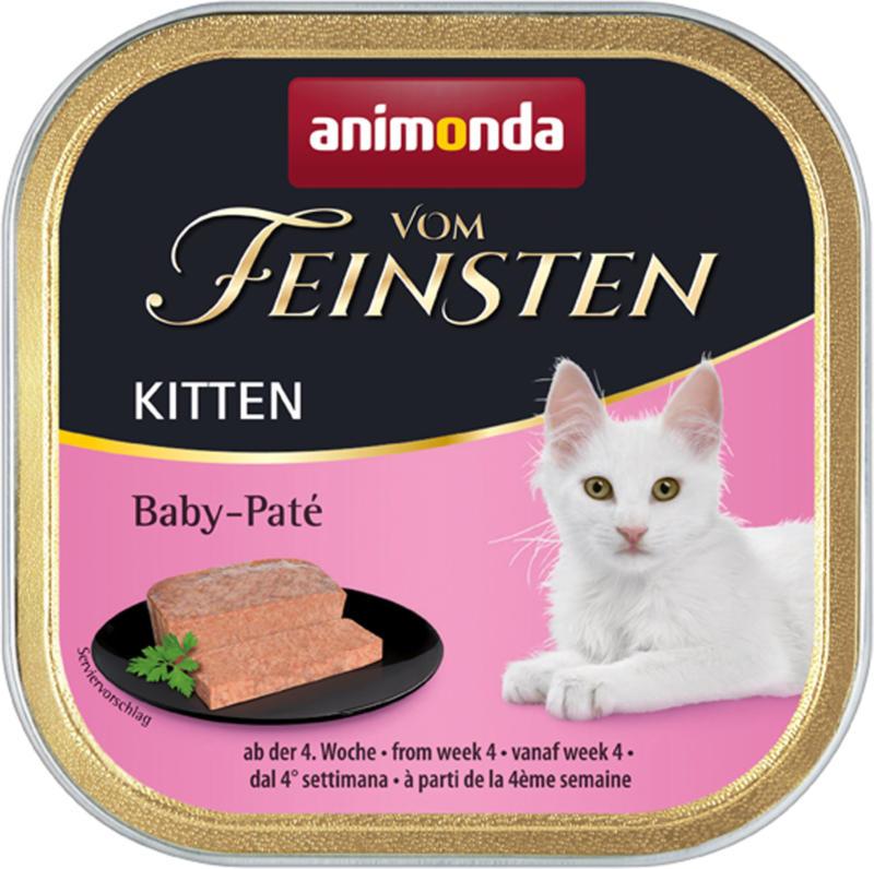 animonda Vom Feinsten Kitten Baby-Paté 32x100g