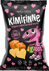 Snack KiMiFiNNe Salted Caramel Hearts, ab 6 Jahren