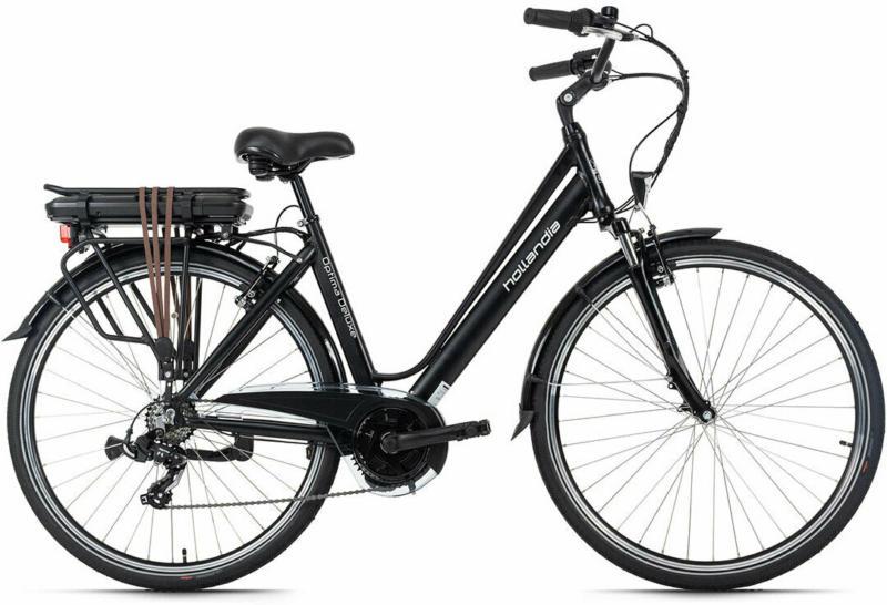 """City E-Bike """"Optima Deluxe"""", schwarz"""
