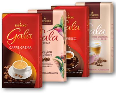 EDUSCHO GALA CAFE CREMA, ESPRESSO 1000G