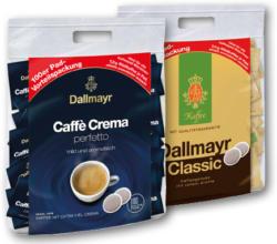 DALLMAYR KAFFEE PADS 100 STK.