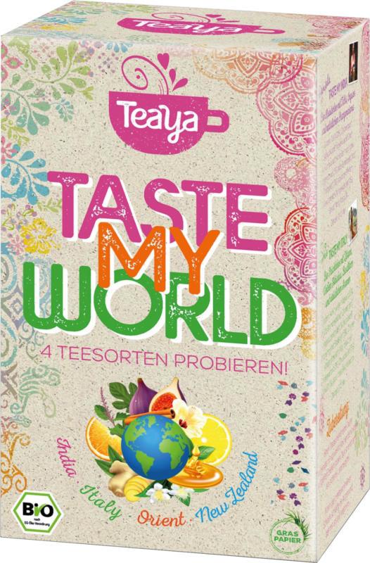 Teaya Teemischung 'Taste my World' Probierpackung (16 x 2g)