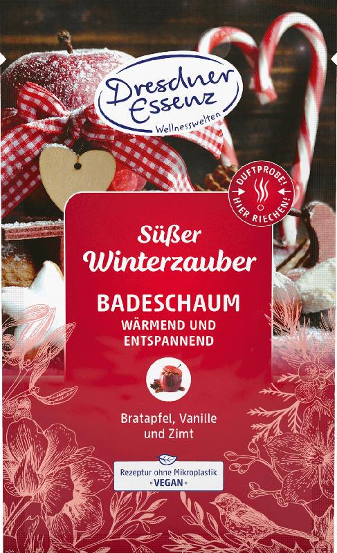 Dresdner Essenz Badesalz Süßer Winterzauber
