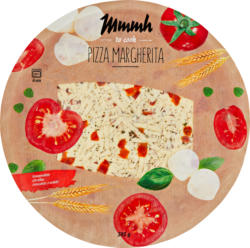 Mmmh Pizza Margherita, knusperdünn, 385 g