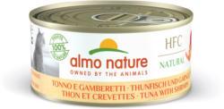 Almo Nature  HFC Natural Thunfisch & Garnelen 24x150g