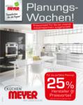 Küchen Meyer GmbH Planungswochen - bis 22.09.2021
