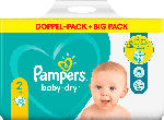 dm-drogerie markt Pampers Windeln Baby Dry, Größe 2 Mini, 4-8kg Doppelpack - bis 30.09.2021