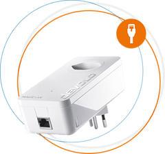 DEVOLO Magic 1 LAN - Adaptateur LAN (Blanc)