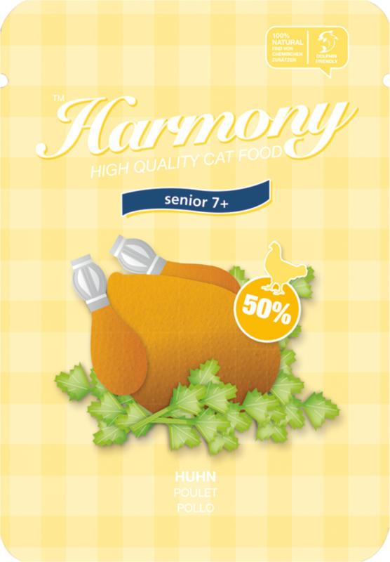 Harmony Senior 7+ Poulet 80g