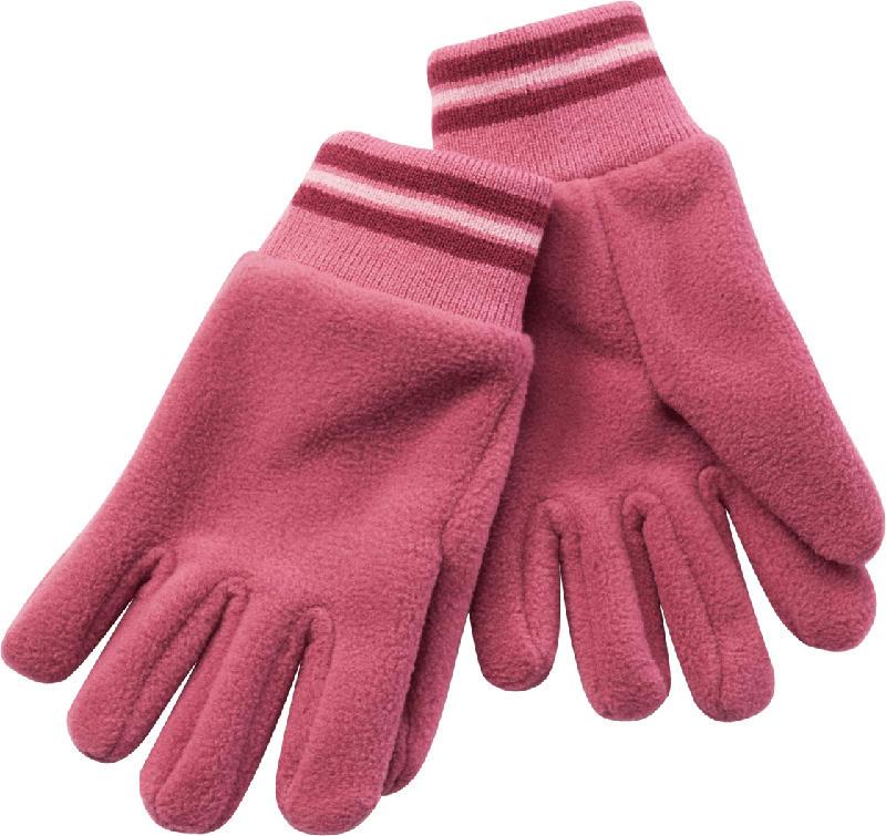PUSBLU Kinder Handschuhe, Gr. 3, beere