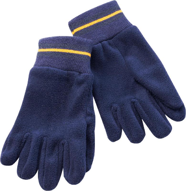 PUSBLU Kinder Handschuhe, Gr. 4, blau