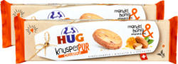 KnusperPur Hug , Amandes & Miel, 2 x 120 g