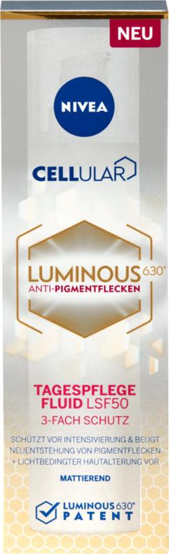 Nivea Cellular luminous 630 Anti macchie fluido giorno IP 50, 40 ml