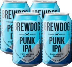 Bière Punk IPA Brewdog , 4 x 33 cl