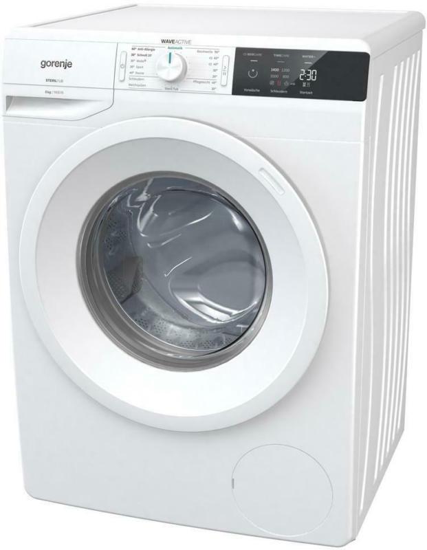 Waschmaschine WE843P B: 60 cm Weiß