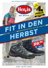 Hervis Flugblatt