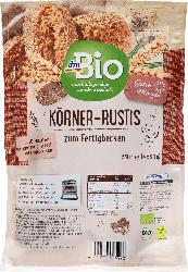 dmBio Aufbackbrötchen Körner-Rusti