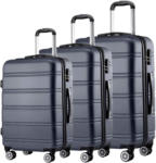 Lipo Set de valises Trolley 3 pièces LINE